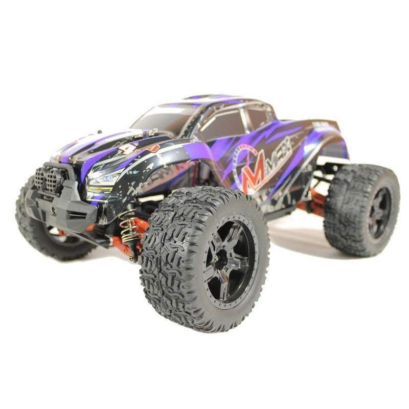 Купить Радиоуправляемый монстр Remo Hobby MMAX Brushless UPGRADE 4WD 2.4G 1/10 RTR-RH1035UPG (Синий)