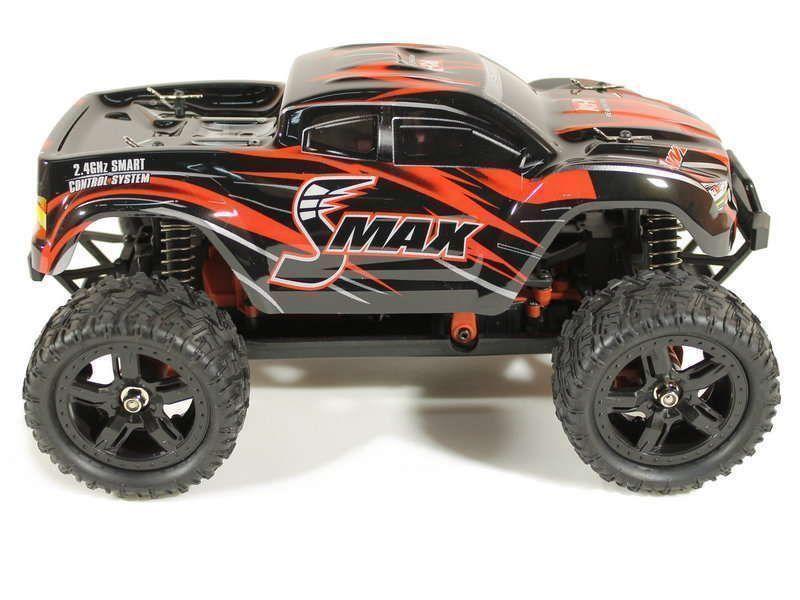 Купить Радиоуправляемый монстр Remo Hobby SMAX UPGRADE 4WD 2.4G 1/16 RTR-RH1631UPG (Красный)
