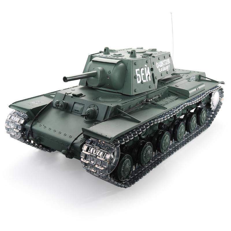 Pадиоуправляемый танк Heng Long 1:16 КВ-1 2.4G RTR - 3878-1 V6.0  - купить со скидкой