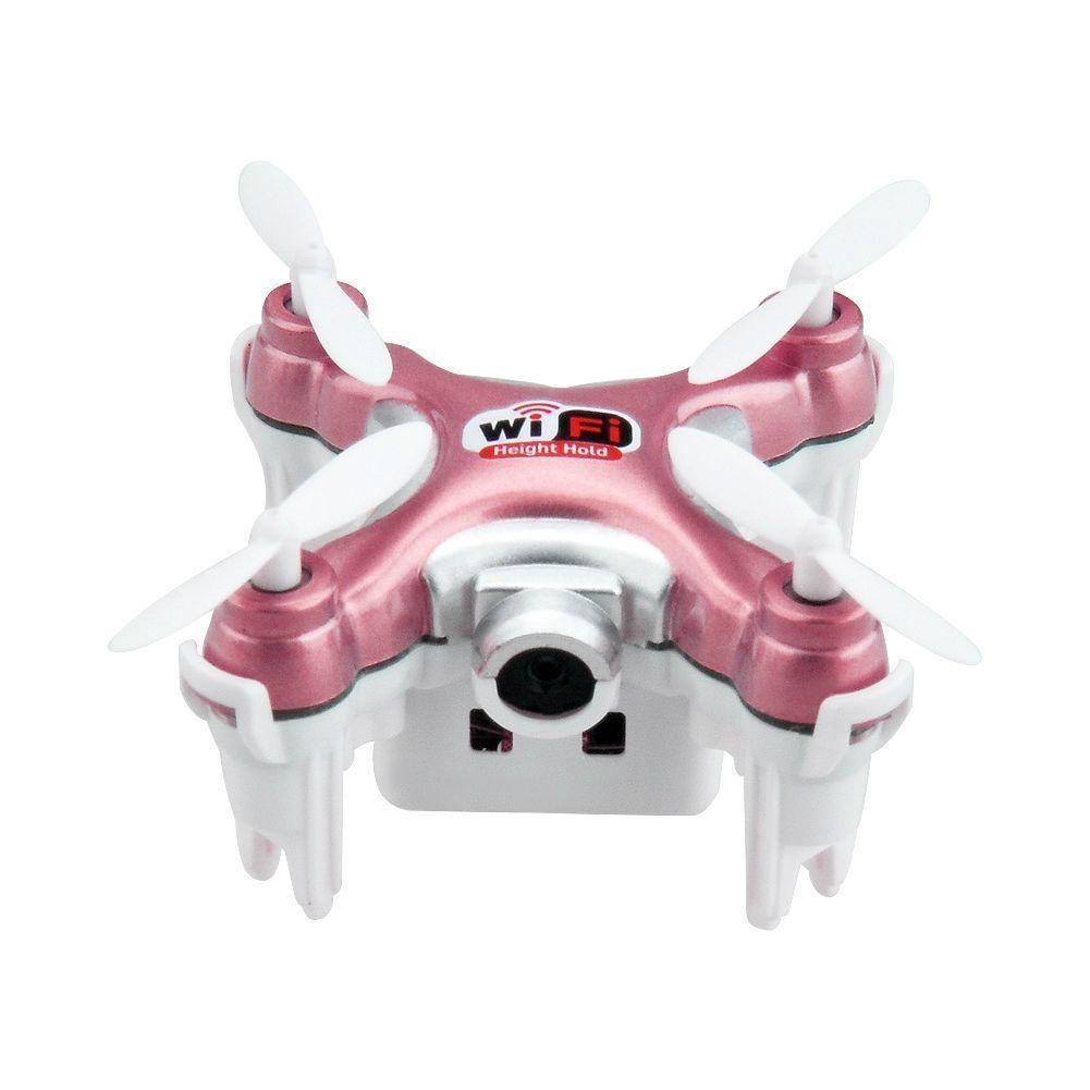 Купить Квадрокоптер Cheerson CX-10WD+TX RTF 2.4G, арт. CX-10WD+TX (Розовый)