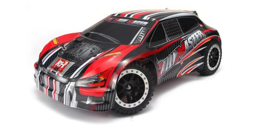Купить Модель раллийного автомобиля Remo Hobby Rally Master 4WD RTR масштаб 1:8 2.4G - RH8081 (Красный), Легковой автомобиль
