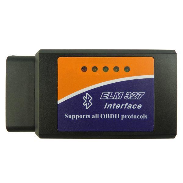 Автомобильный автосканер ELM327 OBD2 v1.5 Bluetooth на чипе PIC18F25K80  - купить со скидкой