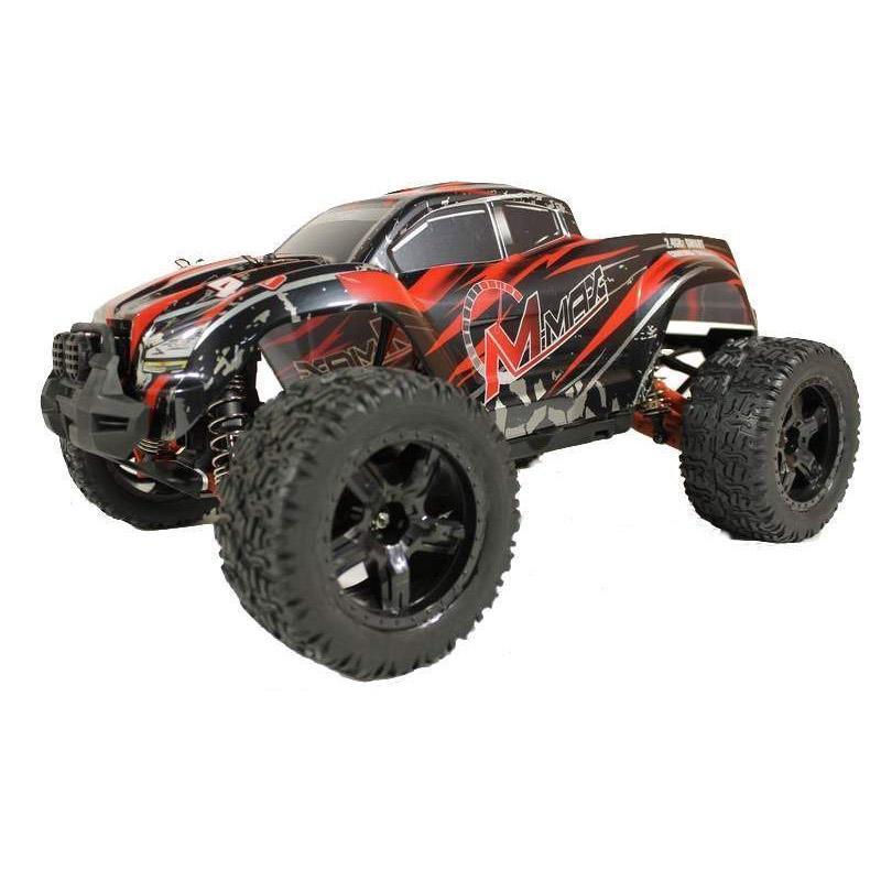 Купить Радиоуправляемый монстр Remo Hobby MMAX Brushless UPGRADE 4WD 2.4G 1/10 RTR-RH1035UPG (Красный)