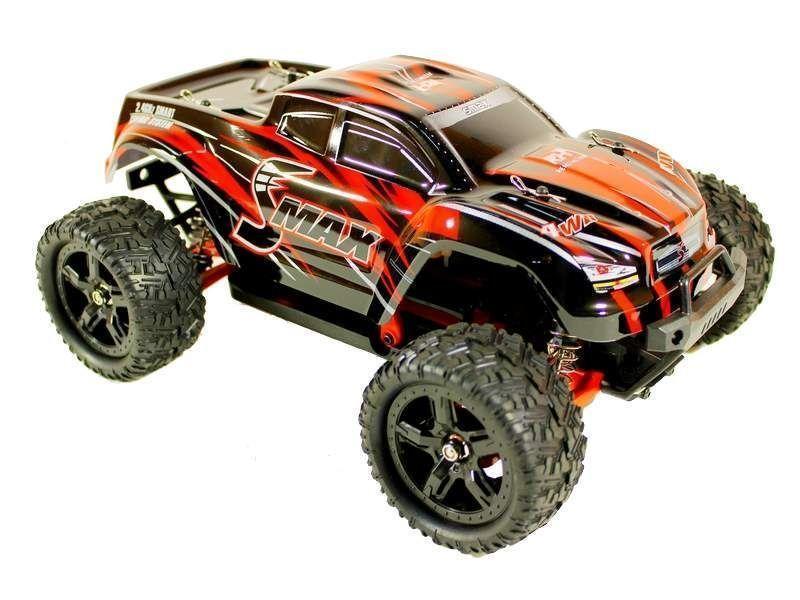 Купить Радиоуправляемый монстр Remo Hobby SMAX Brushless UPGRADE 4WD 2.4G 1/16 RTR-RH1635UPG (Красный)