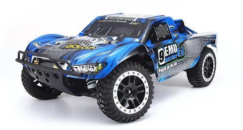 Купить Радиоуправляемый шорт-корс трак Remo Hobby Truck 9emu 4WD RTR масштаб 1:10 2.4G - RH1021 (Синий), Внедорожник