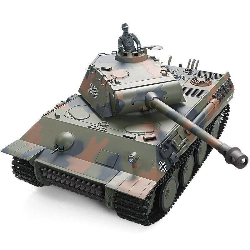 Купить Pадиоуправляемый танк Heng Long 1:16 Panther RTR - 3819-1UpgA V6.0
