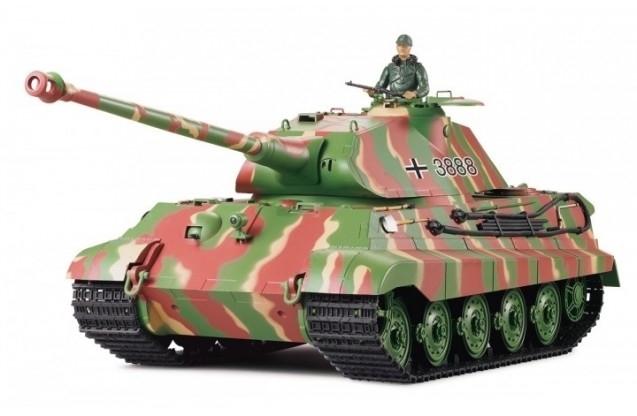 Купить Радиоуправляемый танк Heng Long 1/16 KingTiger (Германия) RTR – 3888A-1
