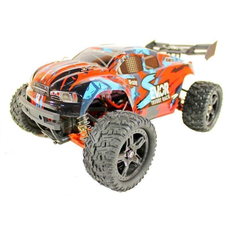 Купить Радиоуправляемая трагги Remo Hobby S EVO-R Brushless UPGRADE 4WD 2.4G 1/16 RTR-RH1665UPG (Красный)