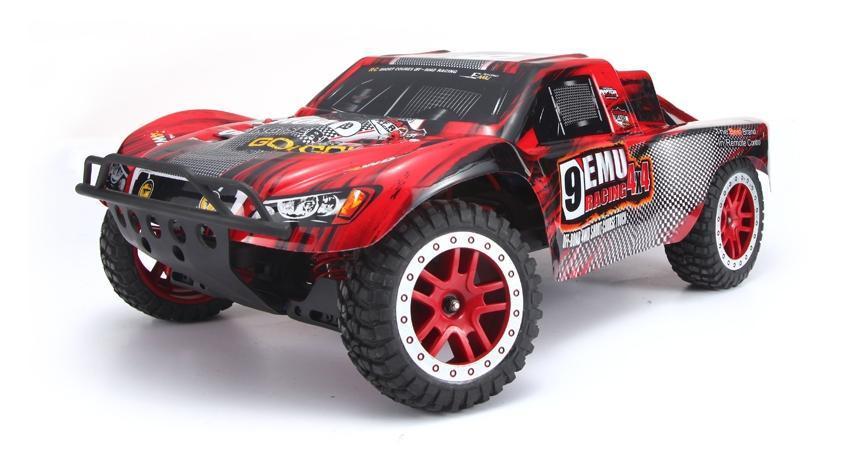 Купить Радиоуправляемый шорт-корс трак Remo Hobby 4WD RTR масштаб 1:8 2.4G - RH8025 (красный), Внедорожник