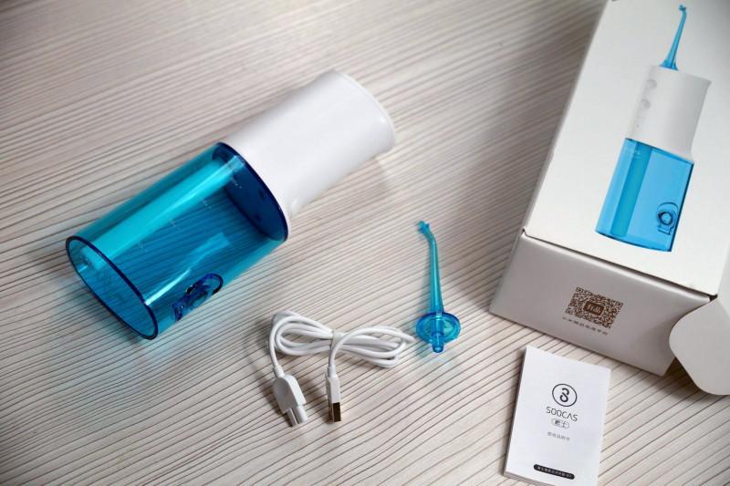Обзор ирригатора Xiaomi Soocas Portable Oral Irrigator W3 от ...