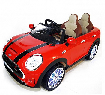 Электромобиль Hollicy Mini Cooper Luxury 12V 2.4G - SX1638